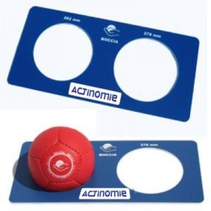 La Boccia - Planche de mesure - Actinomie